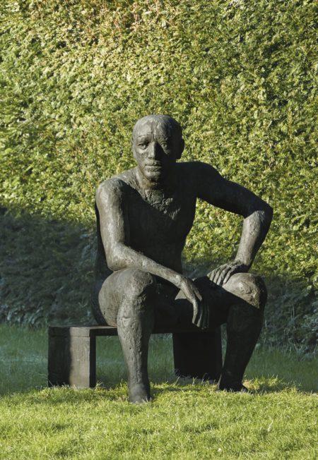 Elisabeth Frink-Seated Man-1983