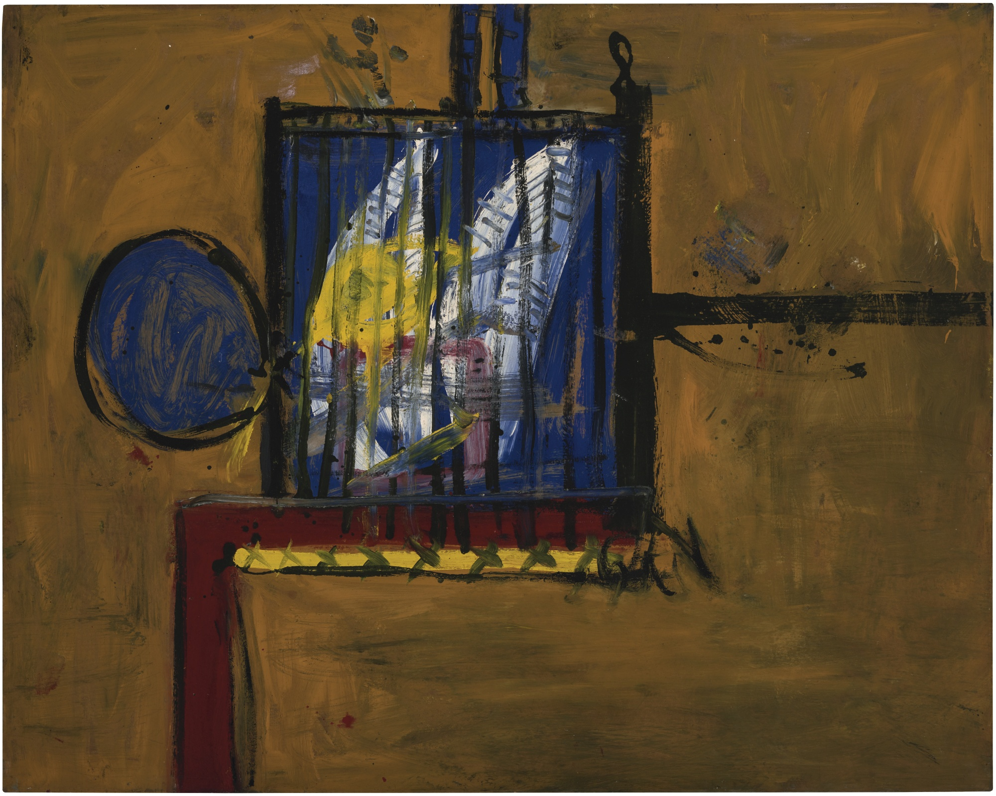 Alan Davie-Bird Cage No. 1-1956