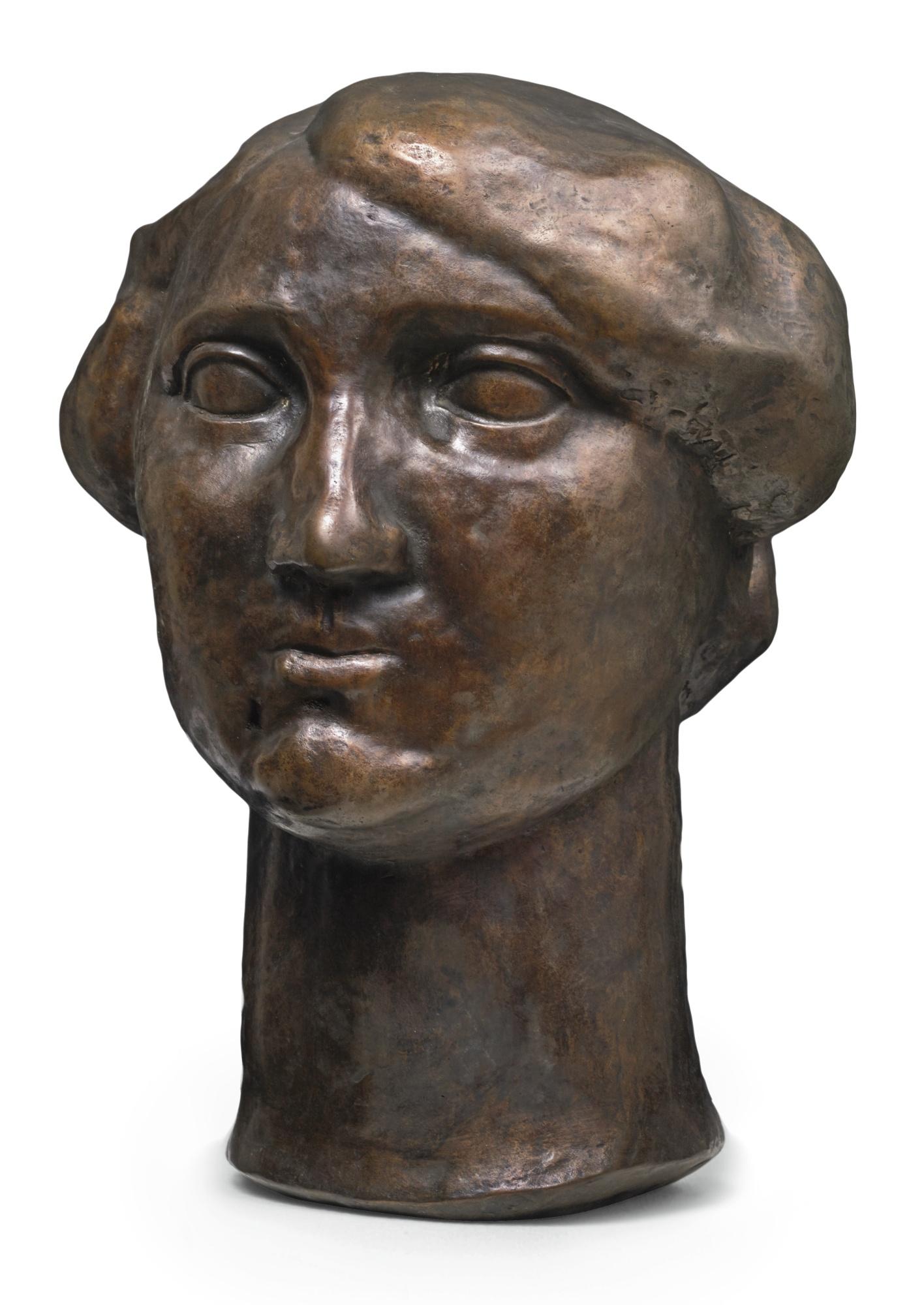 Henri Gaudier-Brzeska-Mademoiselle (Marie) Borne-1914
