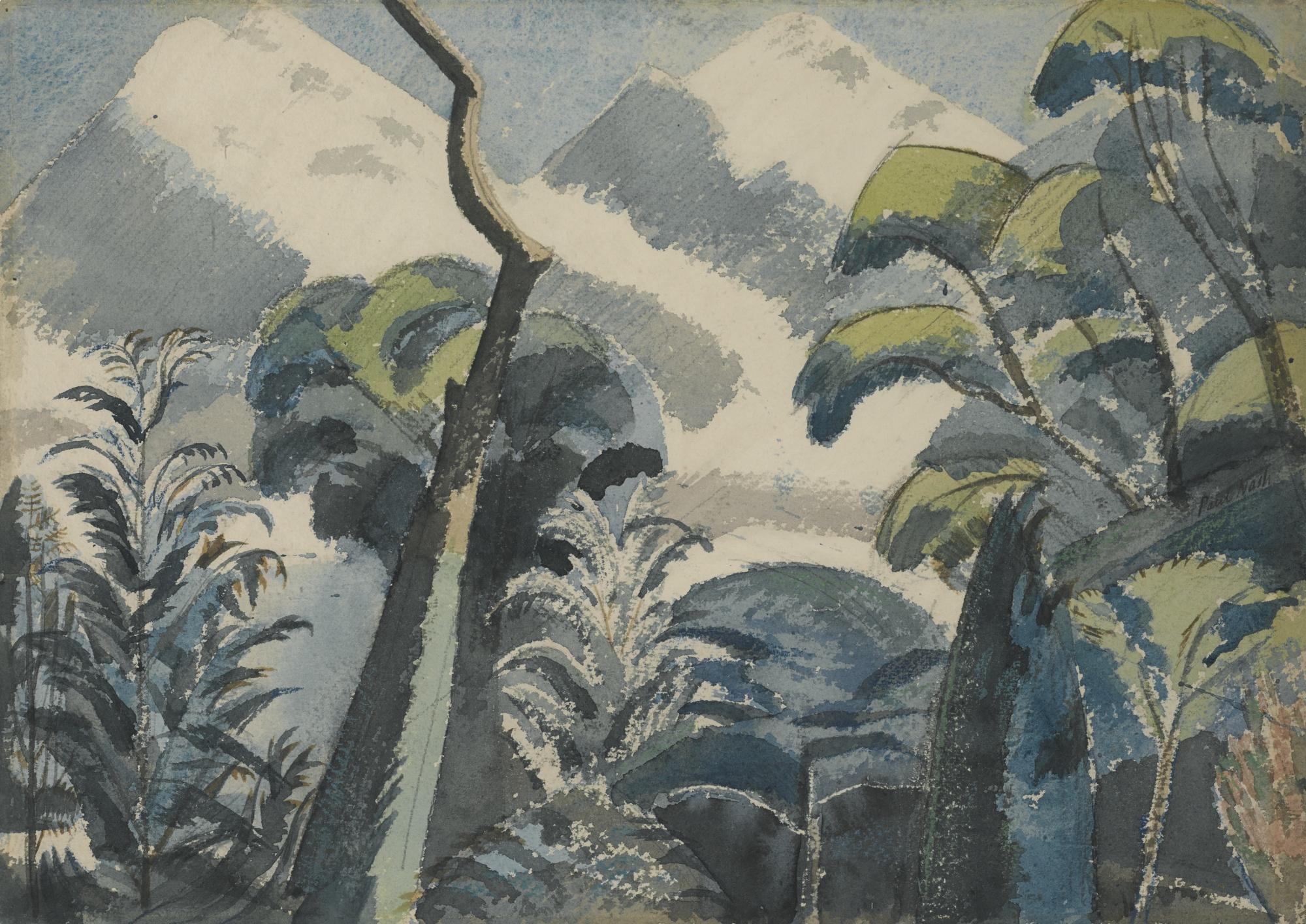 Paul Nash-Trees-1922