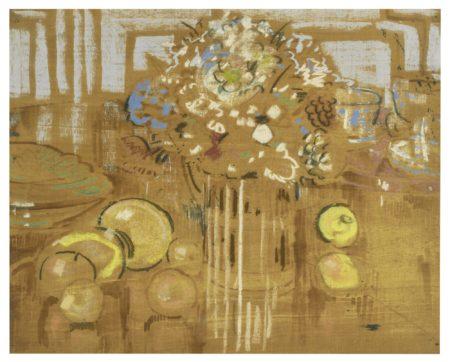 William Nicholson-Note For Flower Piece-