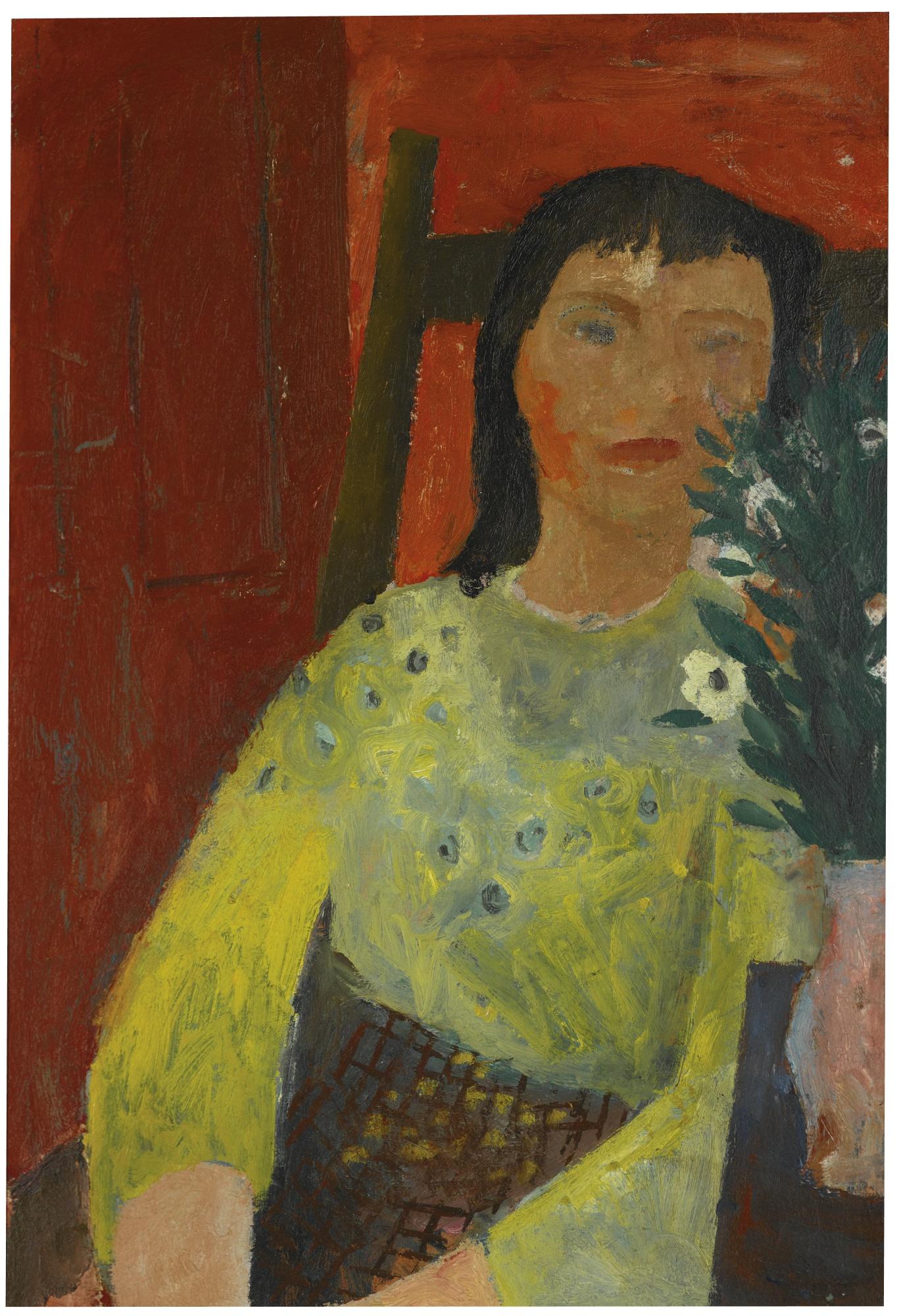 William Scott-Seated Girl-1941