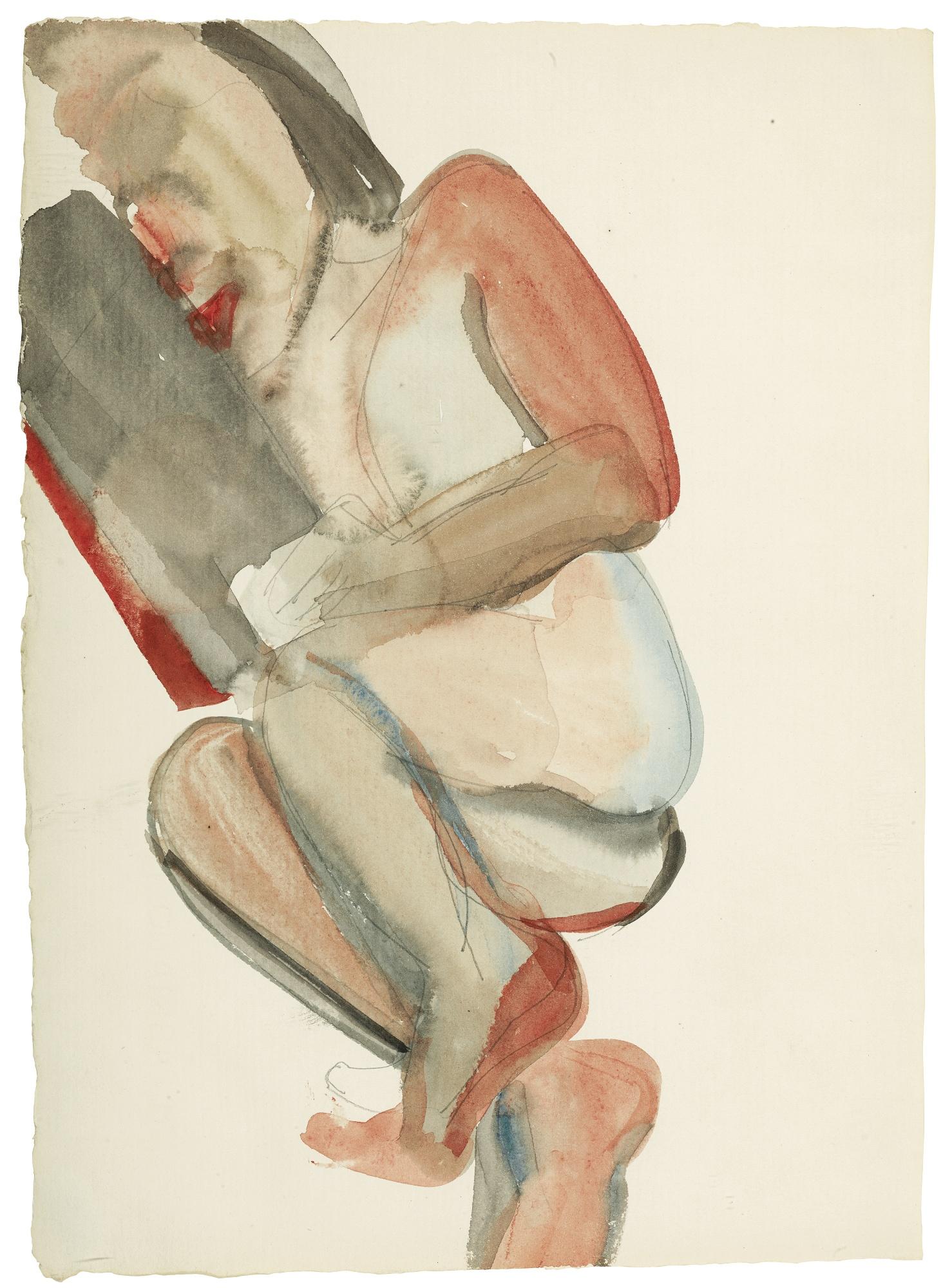 Lucian Freud-Annie Reading-1961
