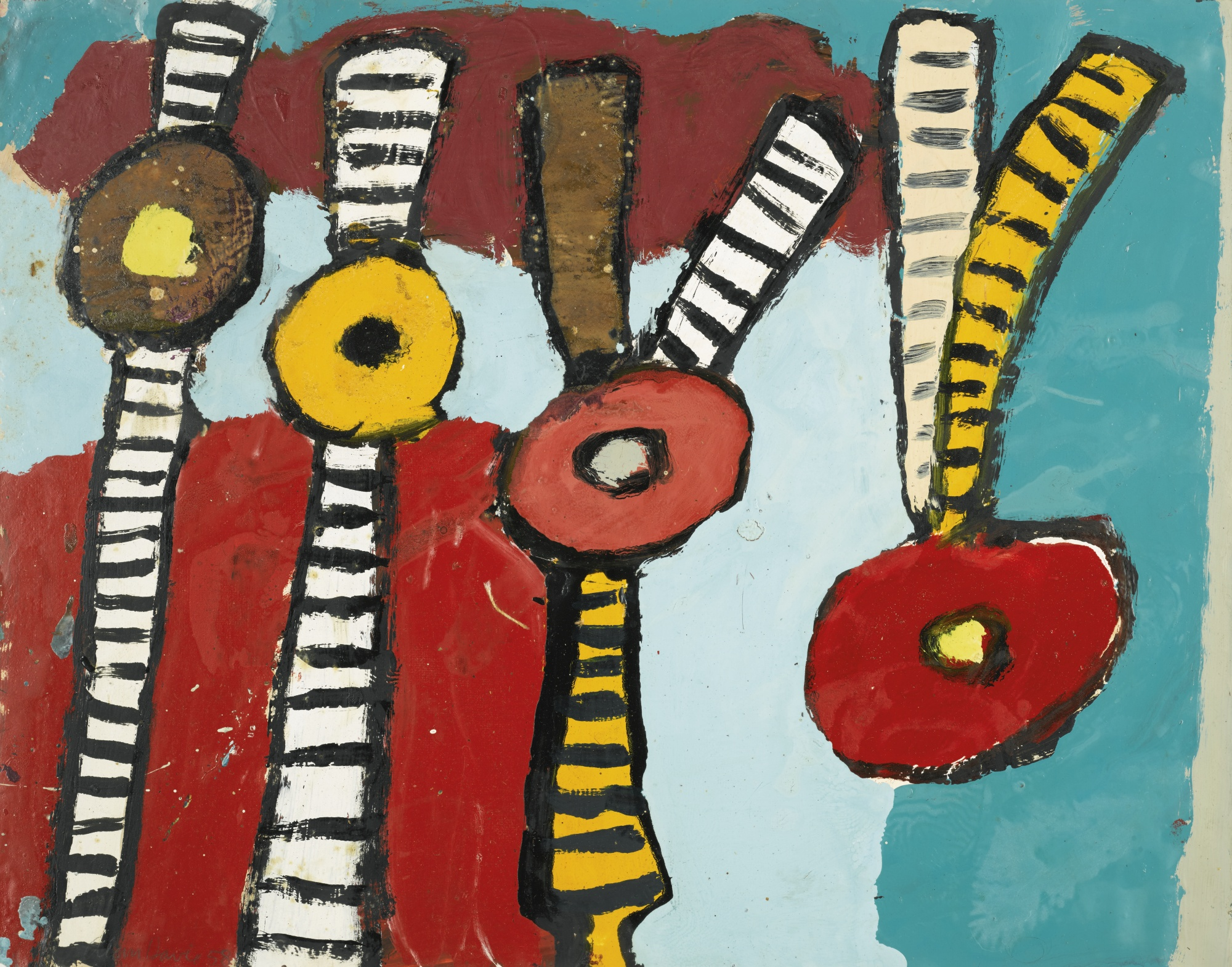 Alan Davie-Flowers For The Cool Air-1958