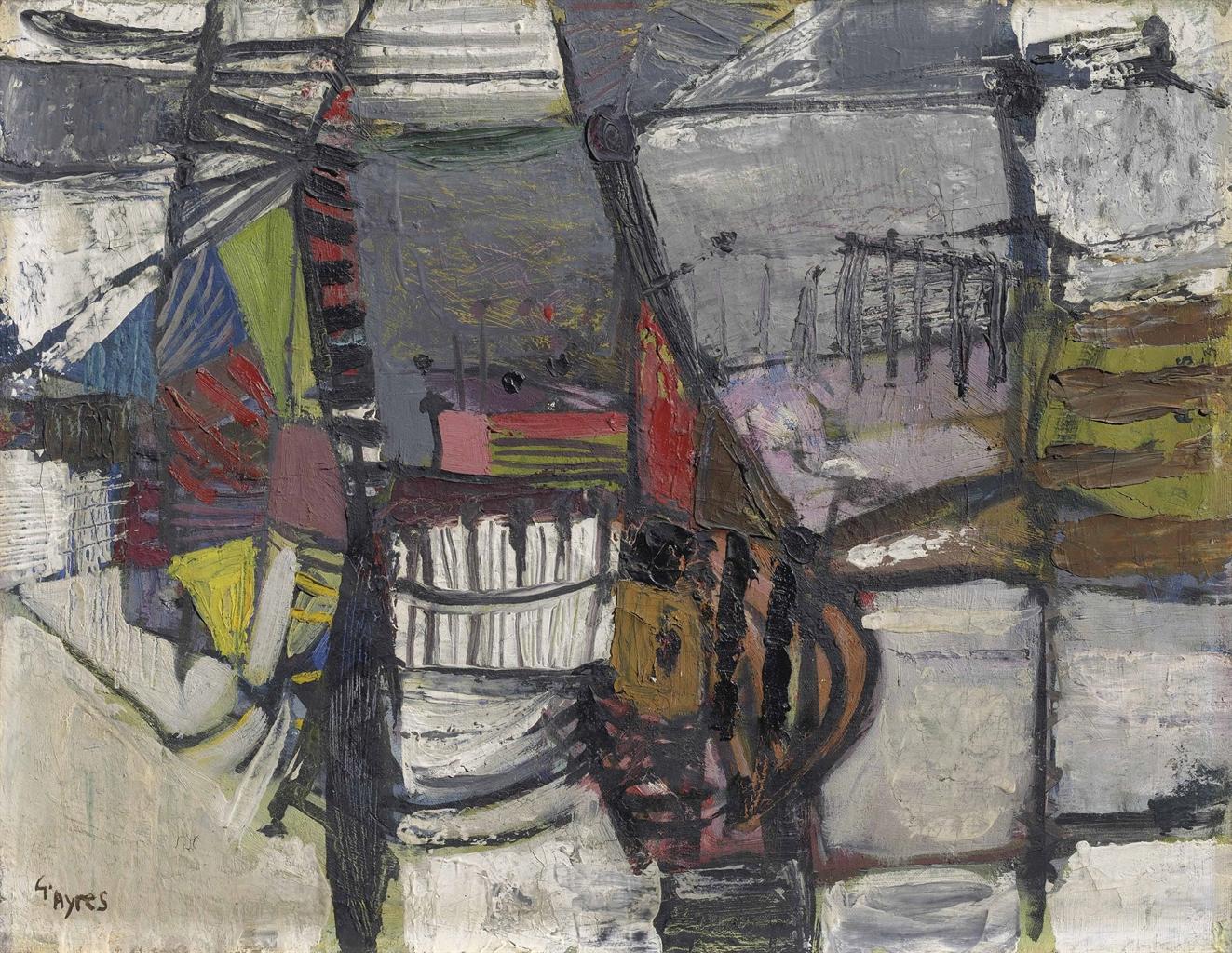 Gillian Ayres-Untitled-1953