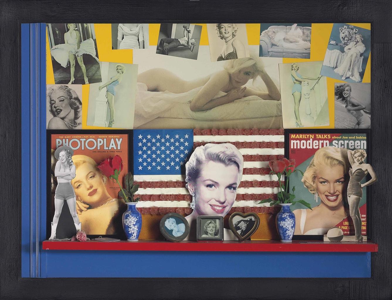 Peter Blake-Shrine to Marilyn Monroe-1990
