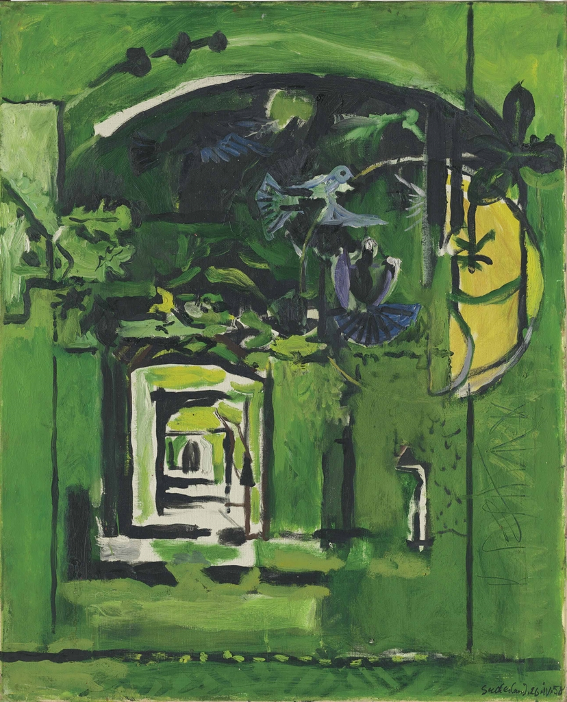 Graham Sutherland-Path in a Wood I-1958