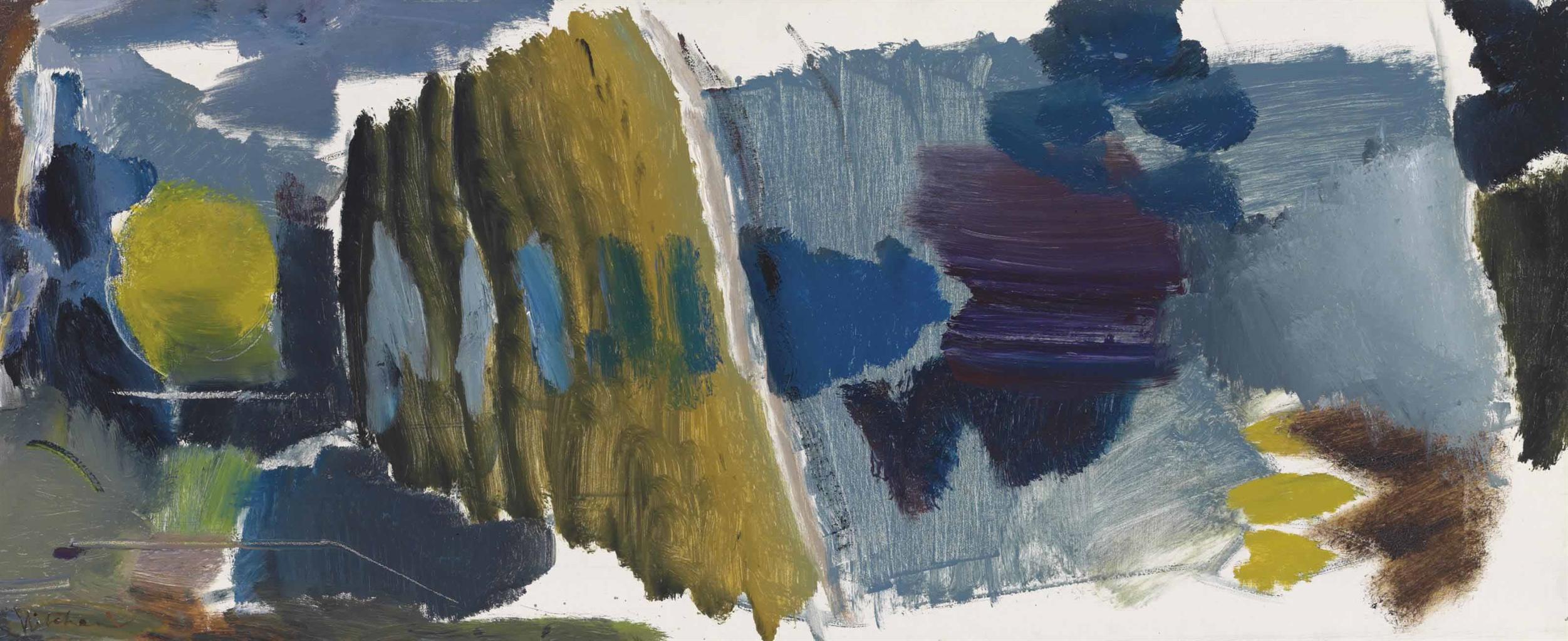 Ivon Hitchens-Poplar Lake-1963