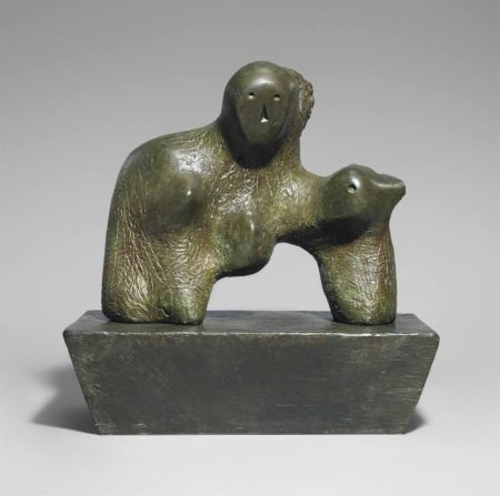 Henry Moore-Mother and Child: Arch-1959