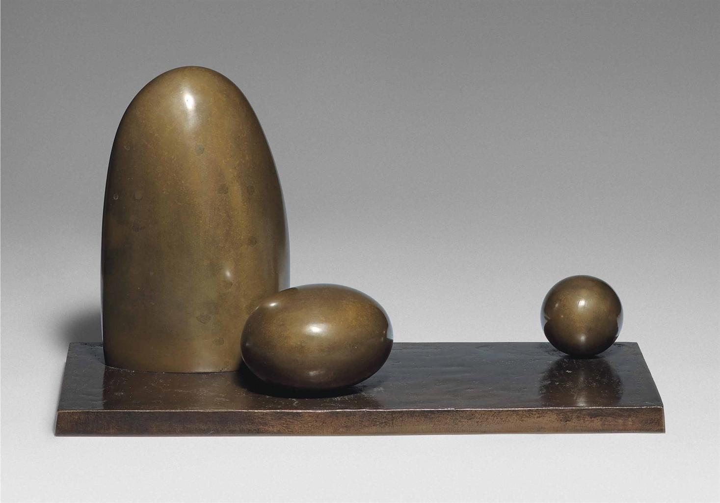 Barbara Hepworth-Three Forms-1971