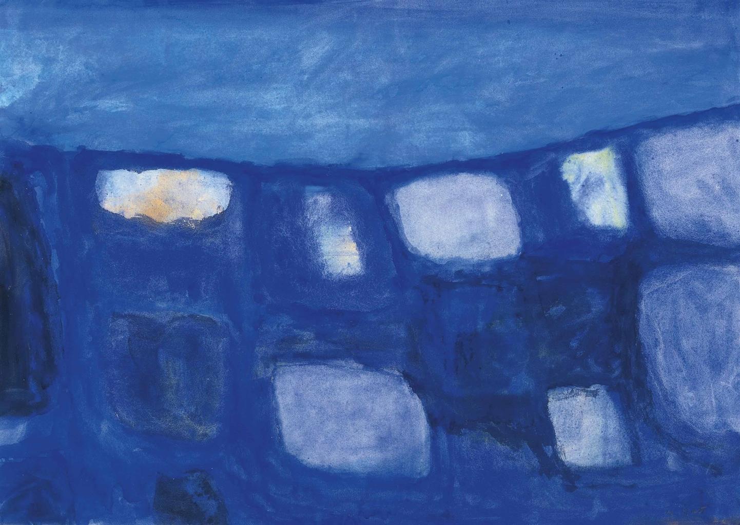 William Scott-Blue Still Life-1957
