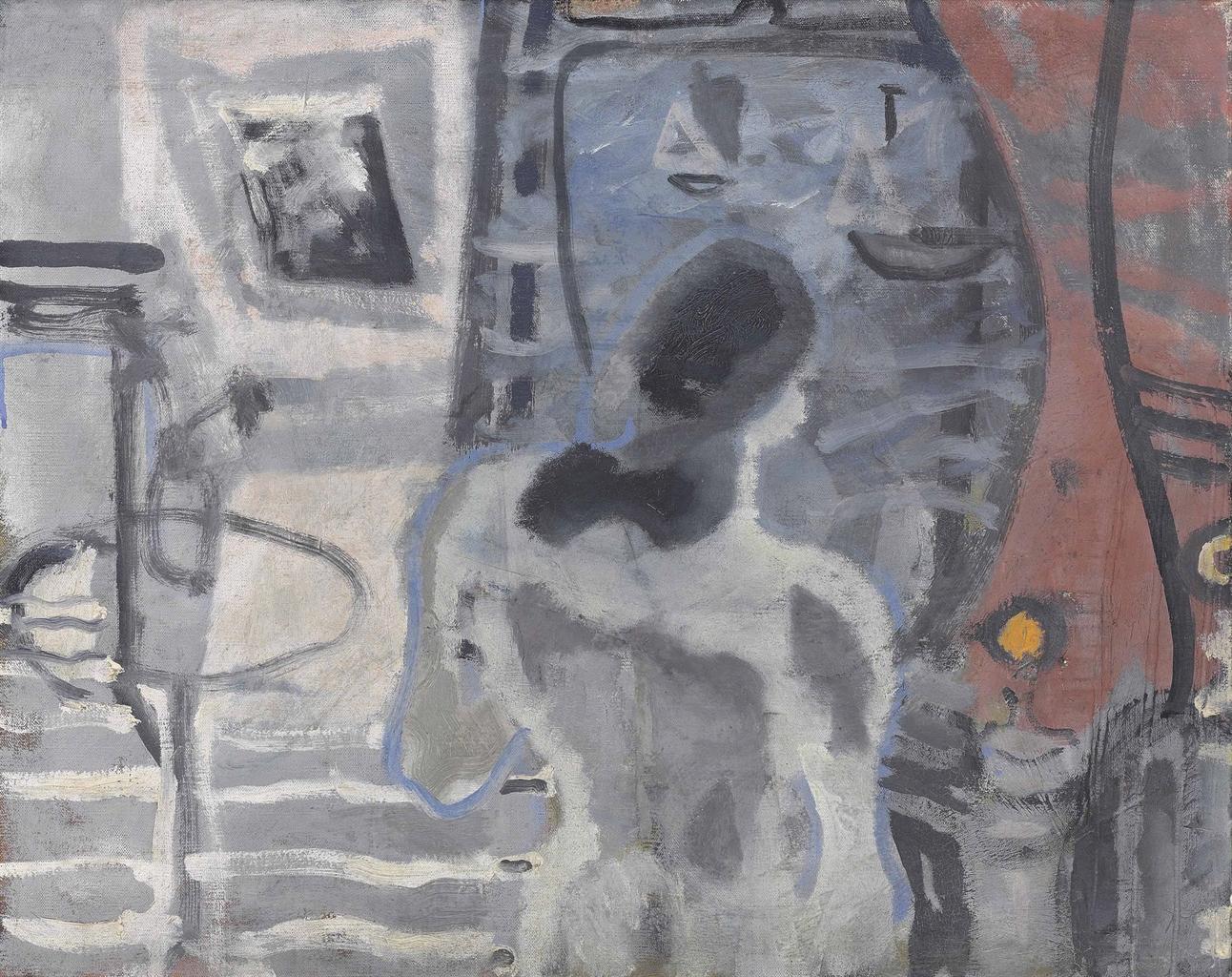 Patrick Heron-Still-life against the sea: 1949-1949