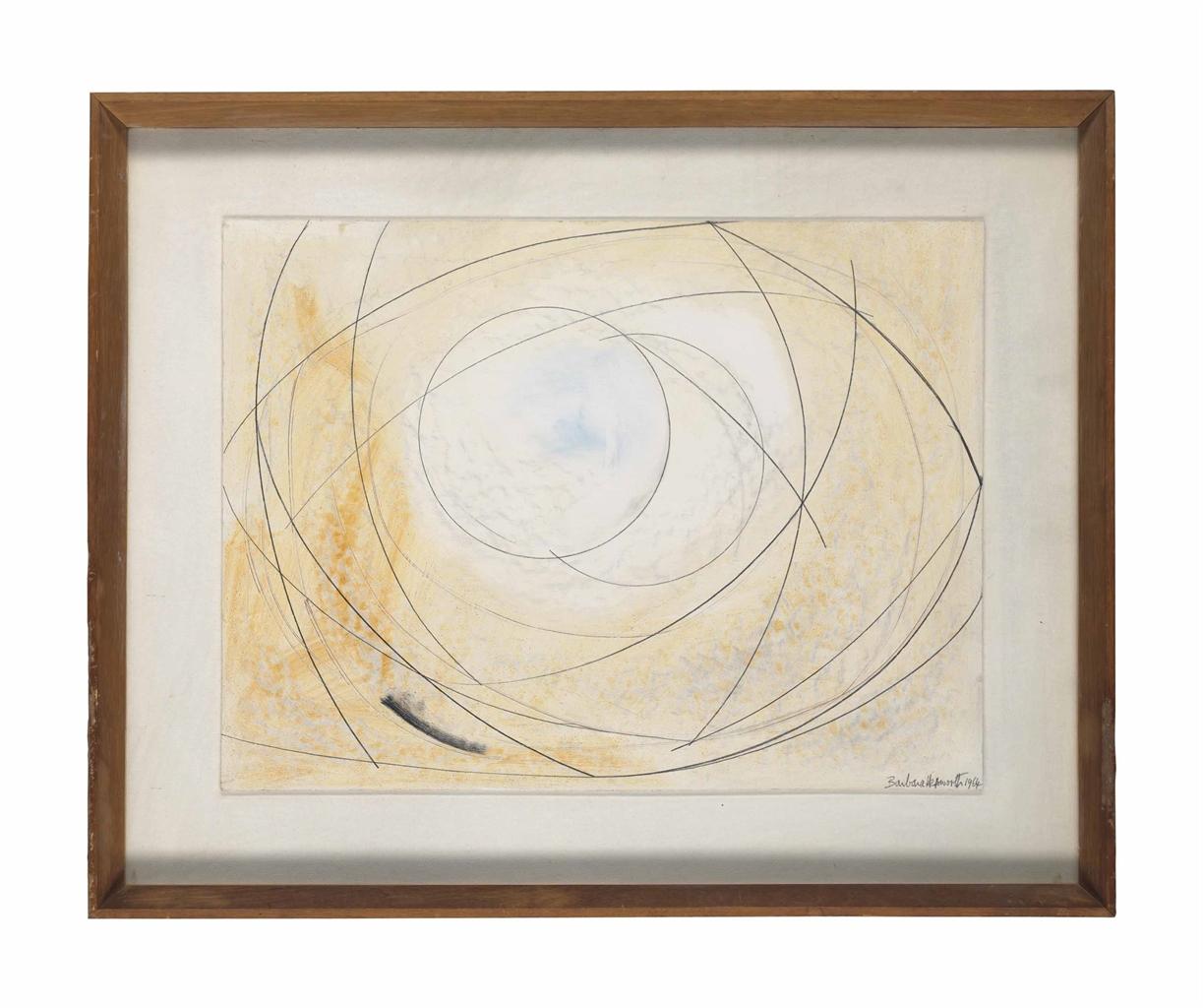 Barbara Hepworth-Pierced Wood Form-1964
