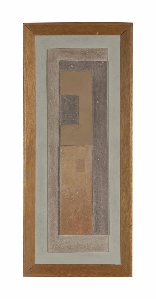 Ben Nicholson-October 1959 (vertical column)-1969