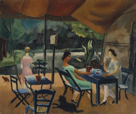 Christopher Wood-Restaurant at St Cloud-1925