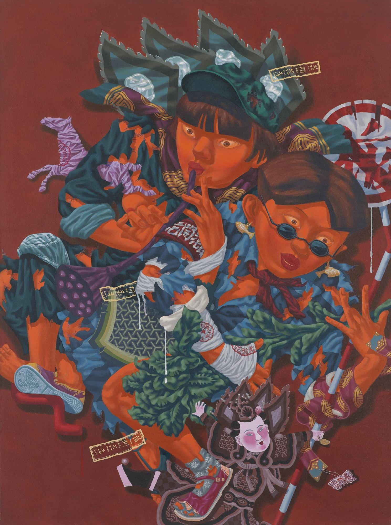 Lu Peng-Capital Night (Hua Kai Hua Luo)-2000