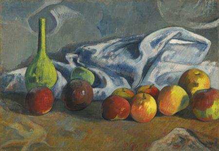 Paul Gauguin-Nature Morte Aux Pommes-1890
