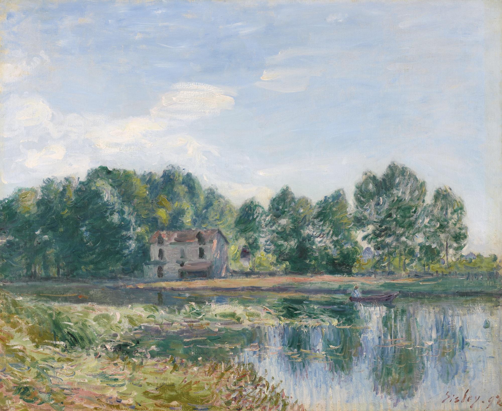 Alfred Sisley-Bords Du Loing-1892