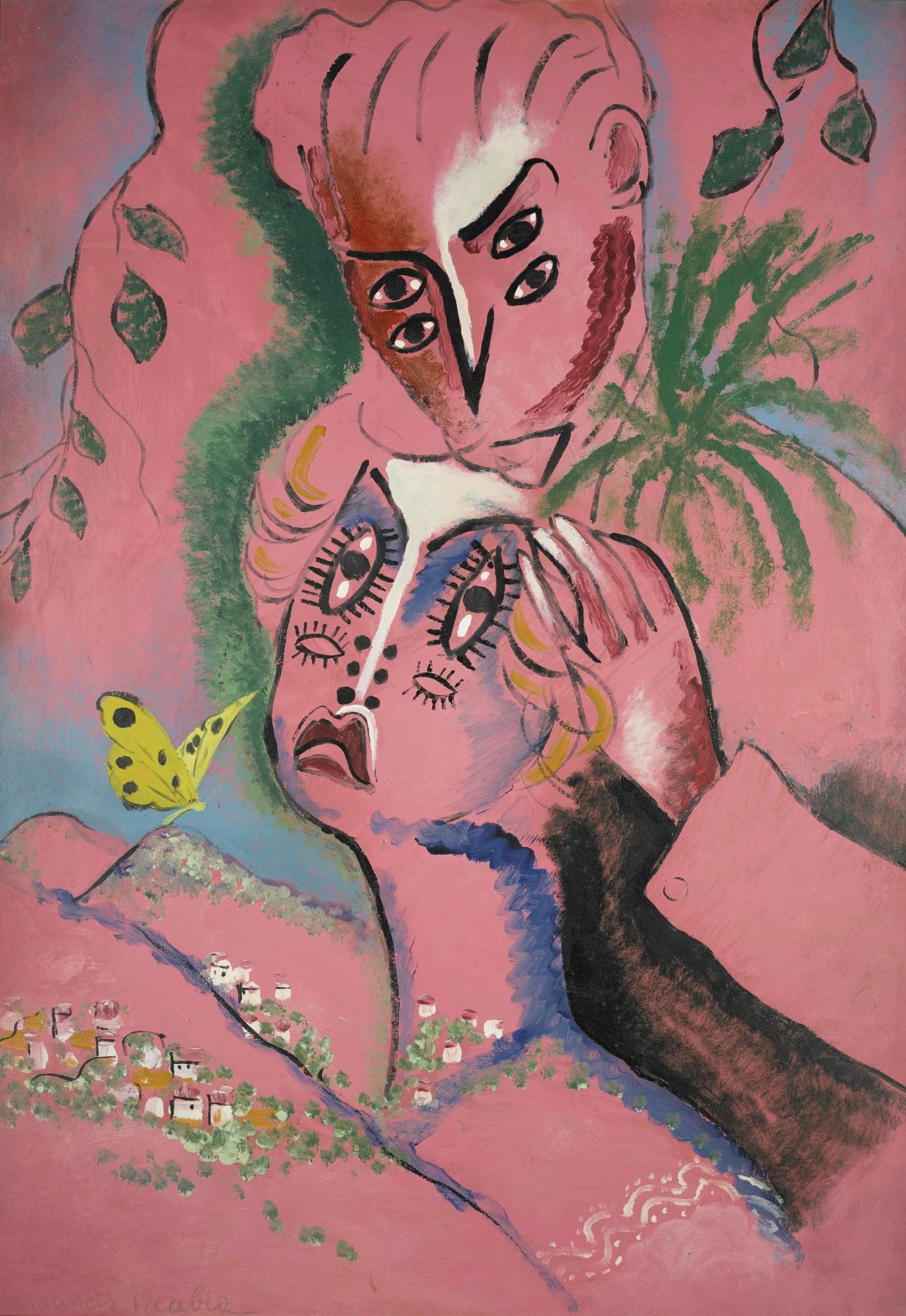 Francis Picabia-Couple Amoureux-1924