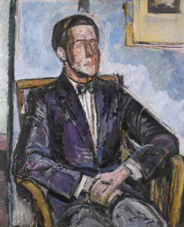 Alberto Giacometti-Portrait De Diego-1925