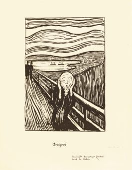 Edvard Munch-The Scream-1895