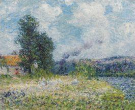 Gustave Loiseau-Tournedos-Sur-Seine-1900