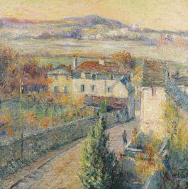 Gustave Loiseau-Triel-Sur-Seine-1915
