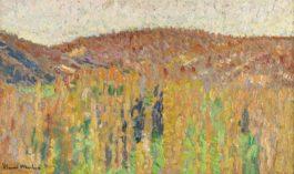 Henri Martin-Paysage Du Lot - Recto Etude De Pieds Laces - Verso