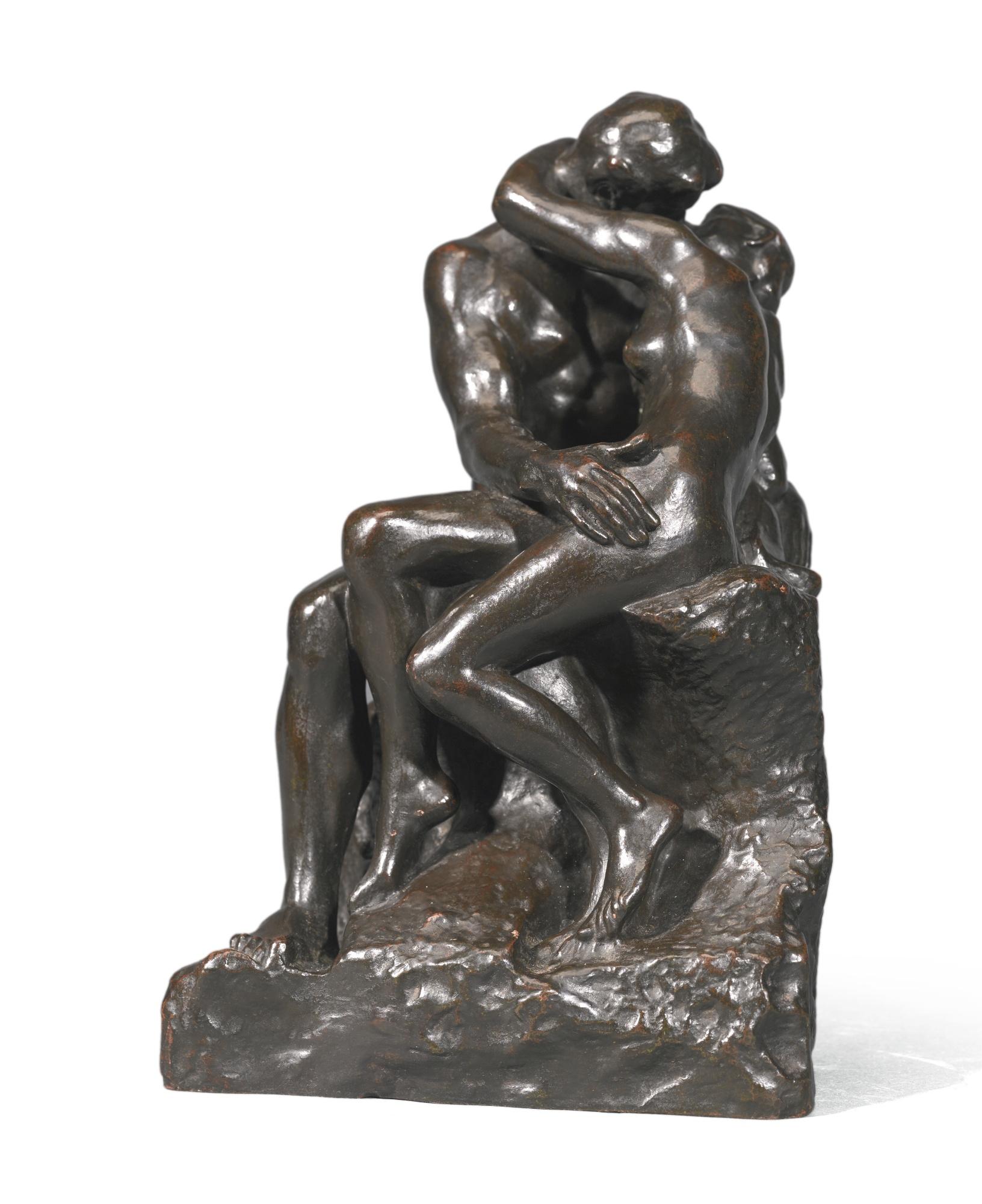 Auguste Rodin-Le Baiser, 4Eme Reduction Ou Petit Modele-1942