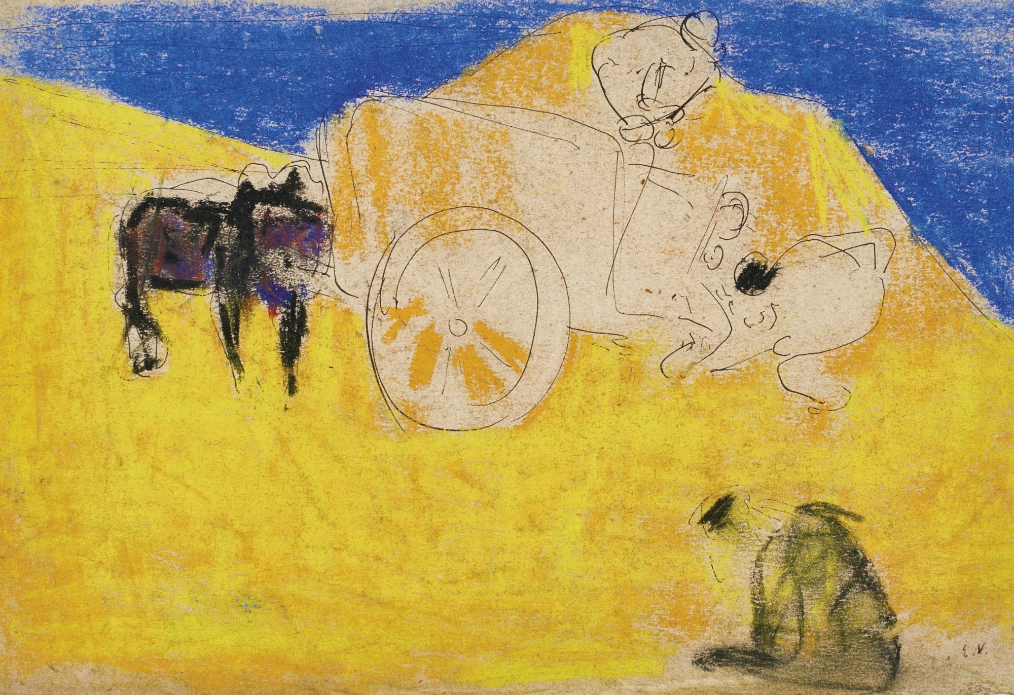 Edouard Vuillard-Le Tombereau-1890