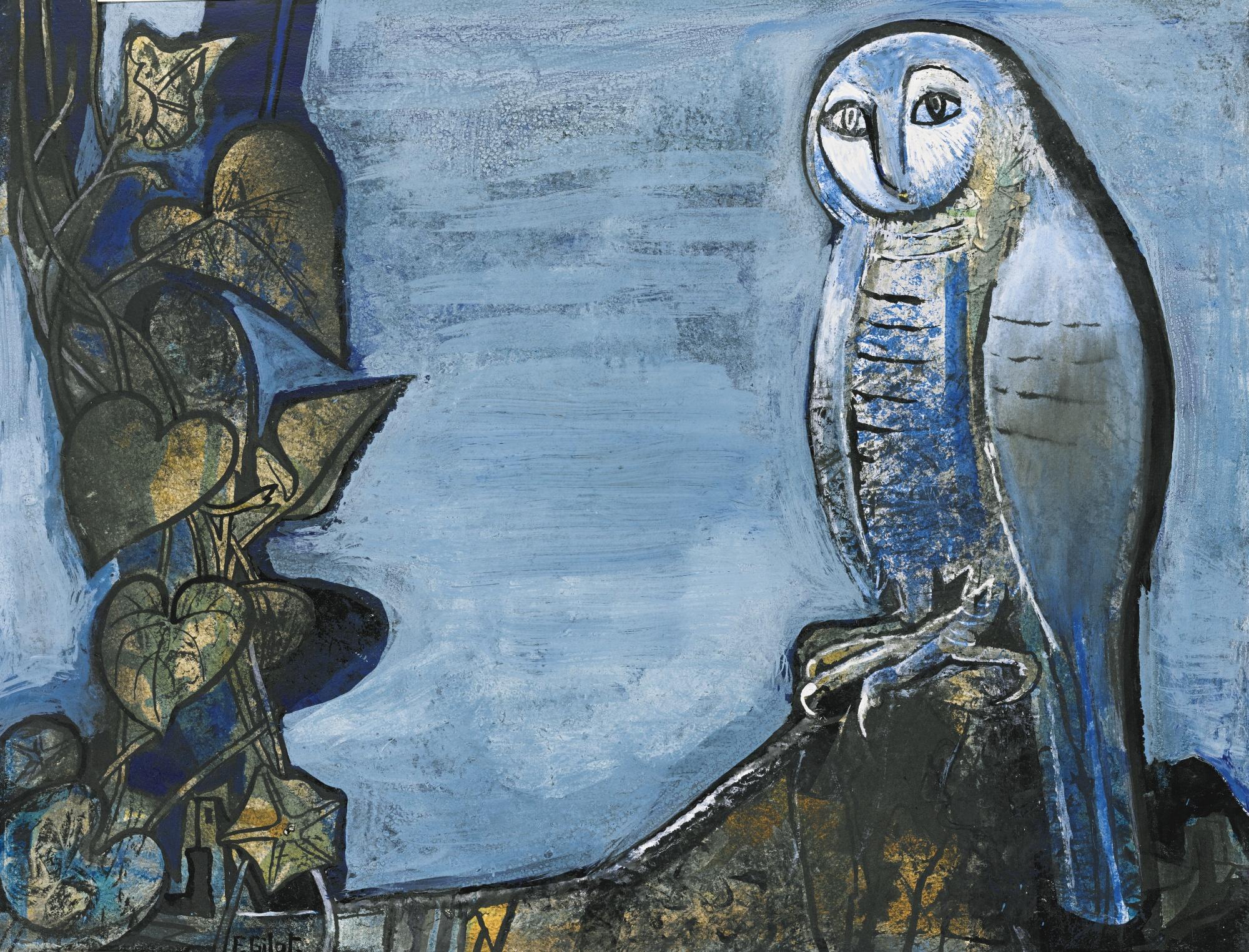Francoise Gilot-Through The Night-1970