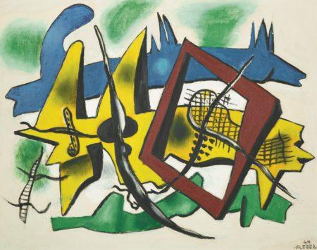 Fernand Leger-Elements Metalliques-1944
