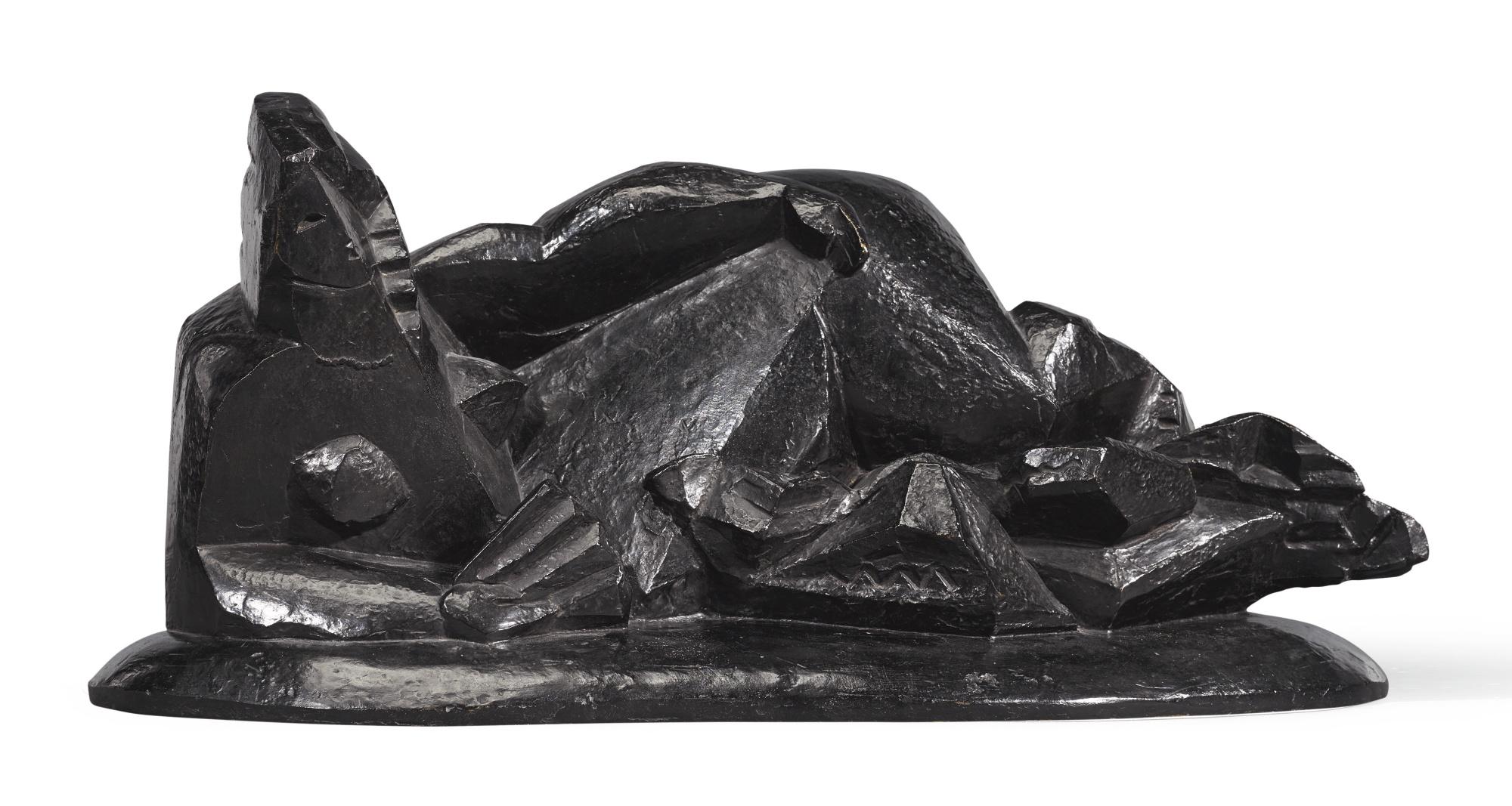 Henri Laurens-Femme A L'Eventail-1919
