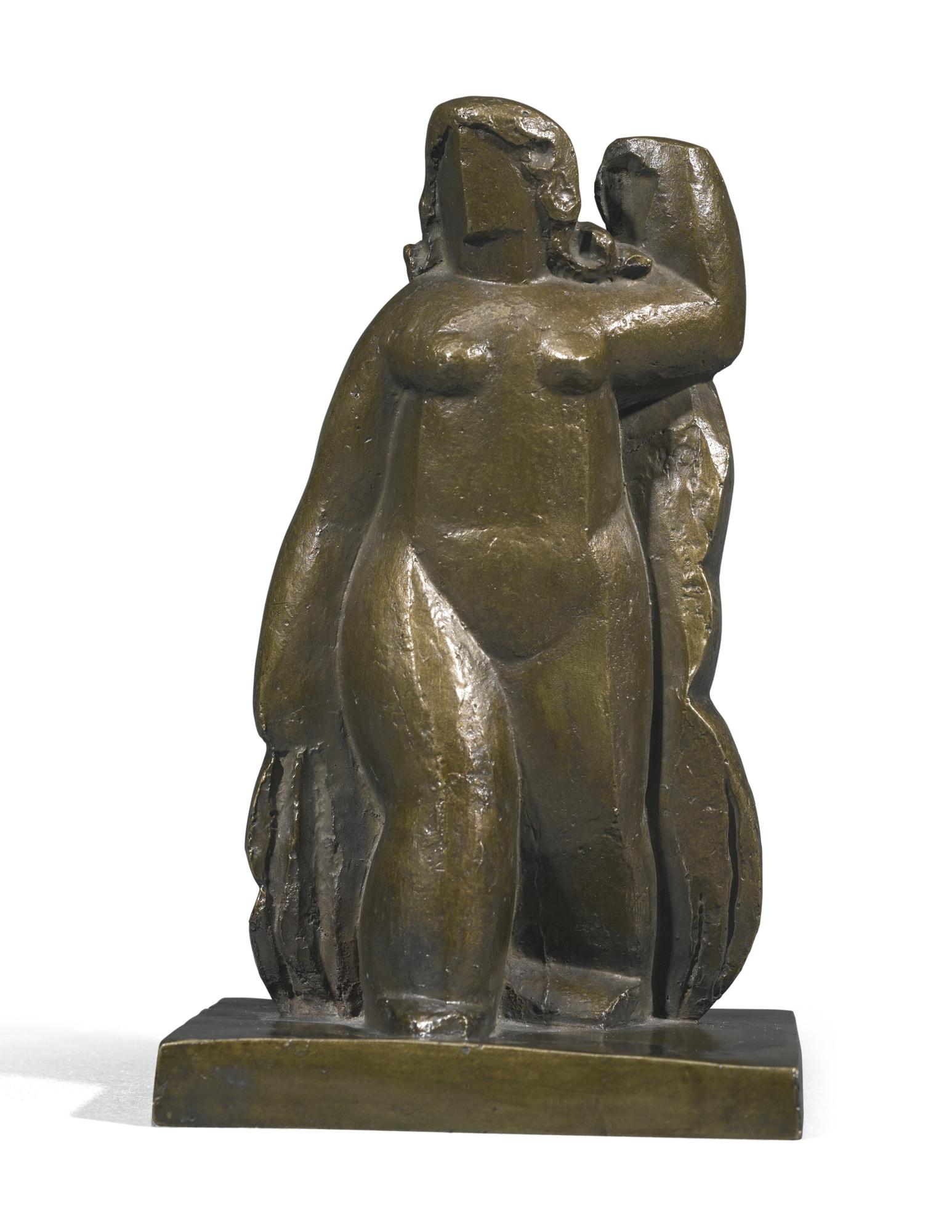 Henri Laurens-Femme A La Draperie Debout-1929