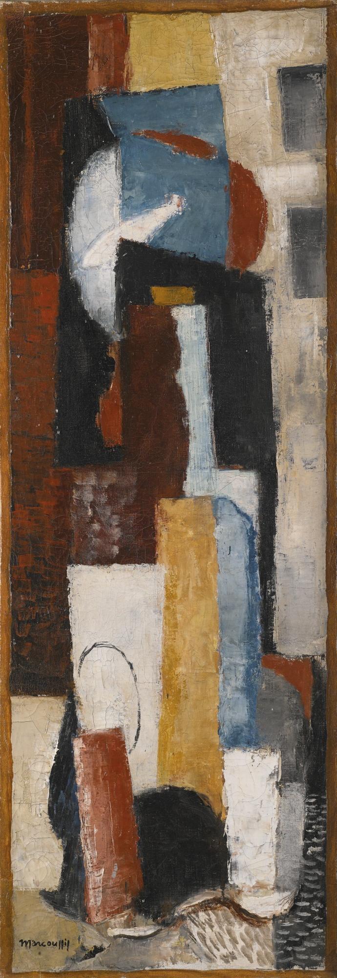 Louis Marcoussis-Le Poisson Rouge-1922