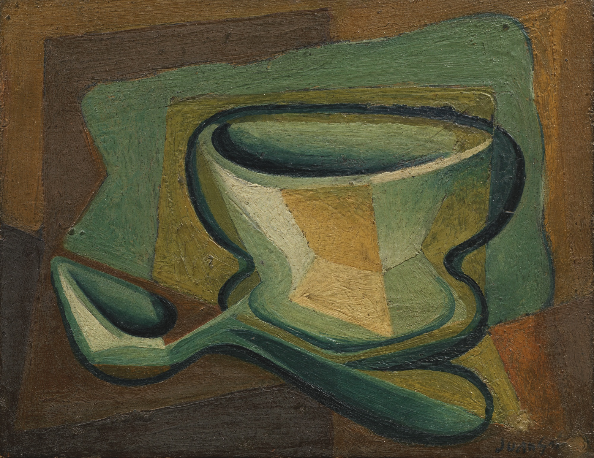 Juan Gris-Bol Et Cuillere-1923