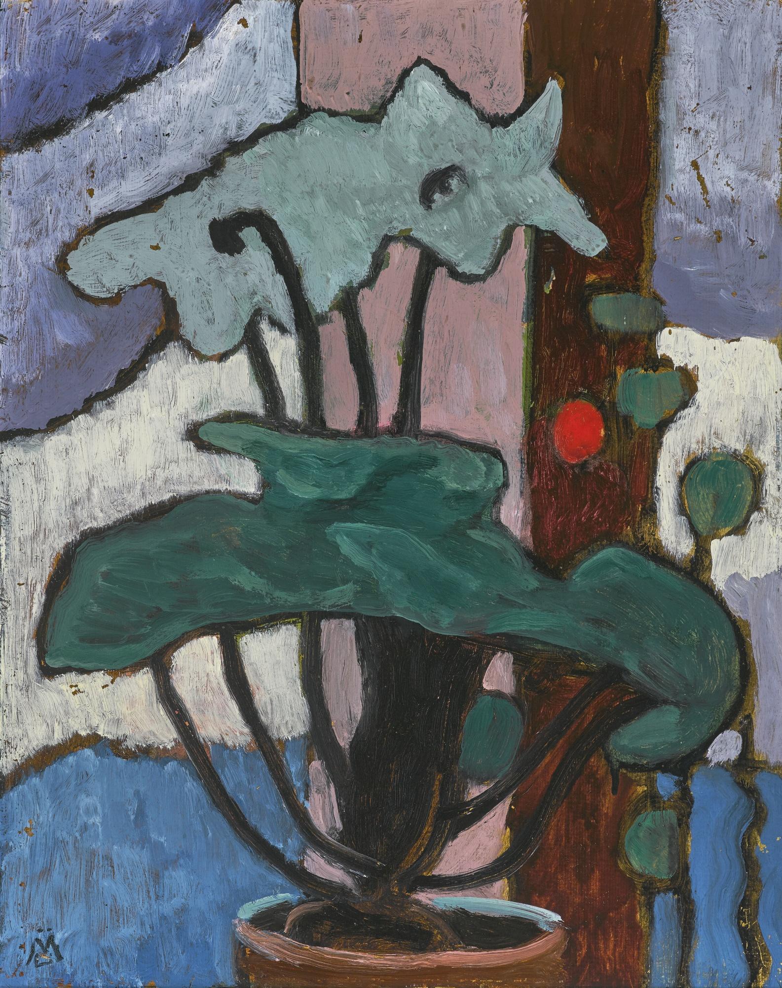Gabriele Munter-Topfpflanze (Pot Plant)-