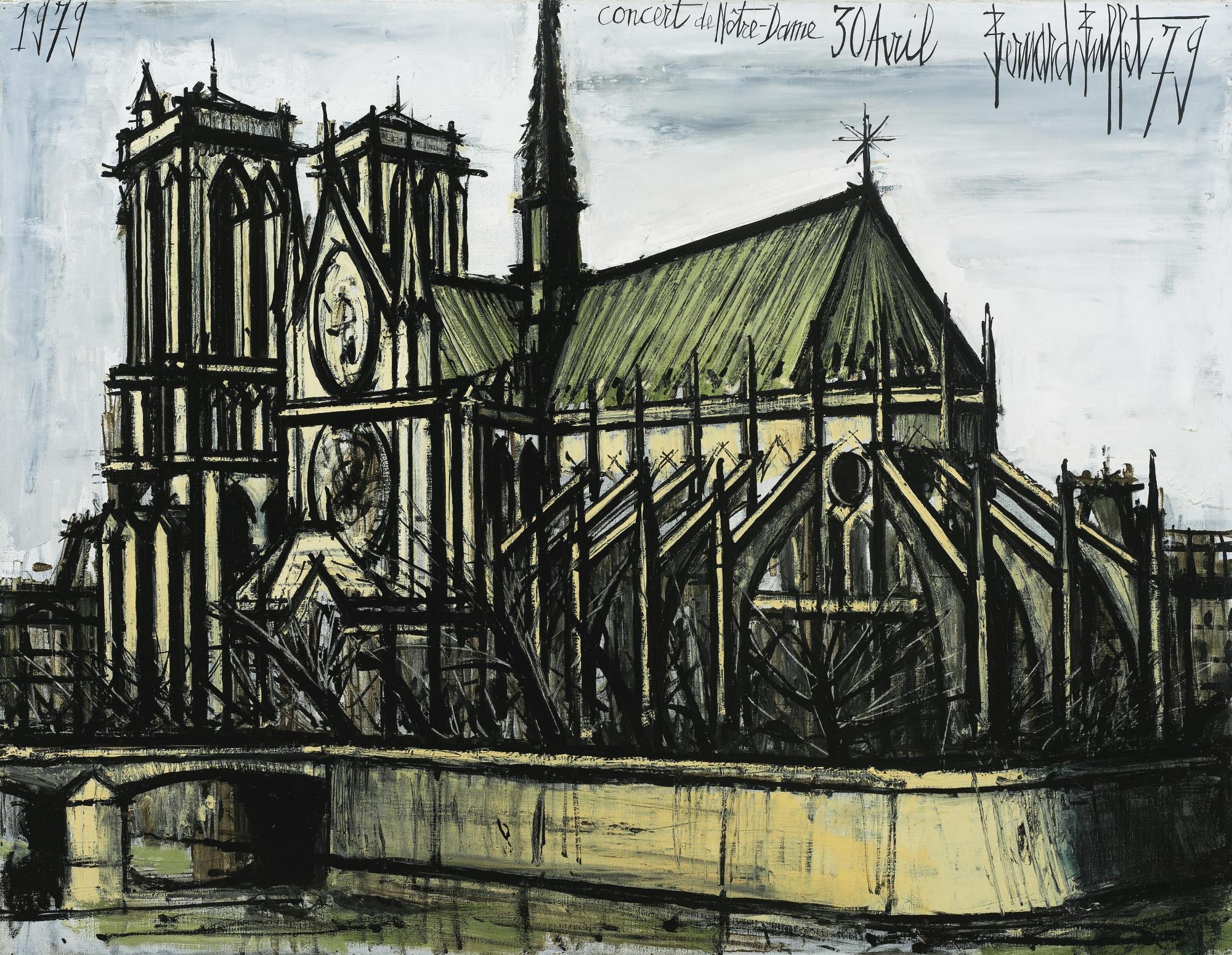 Bernard Buffet-Notre-Dame-1979