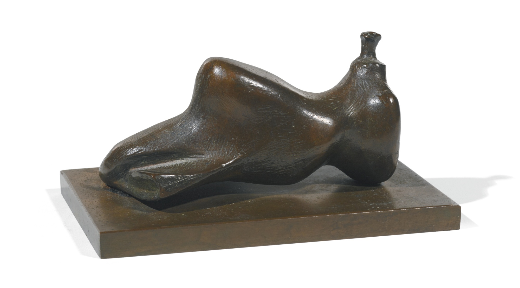 Henry Moore-Reclining Figure: Small Head-1980