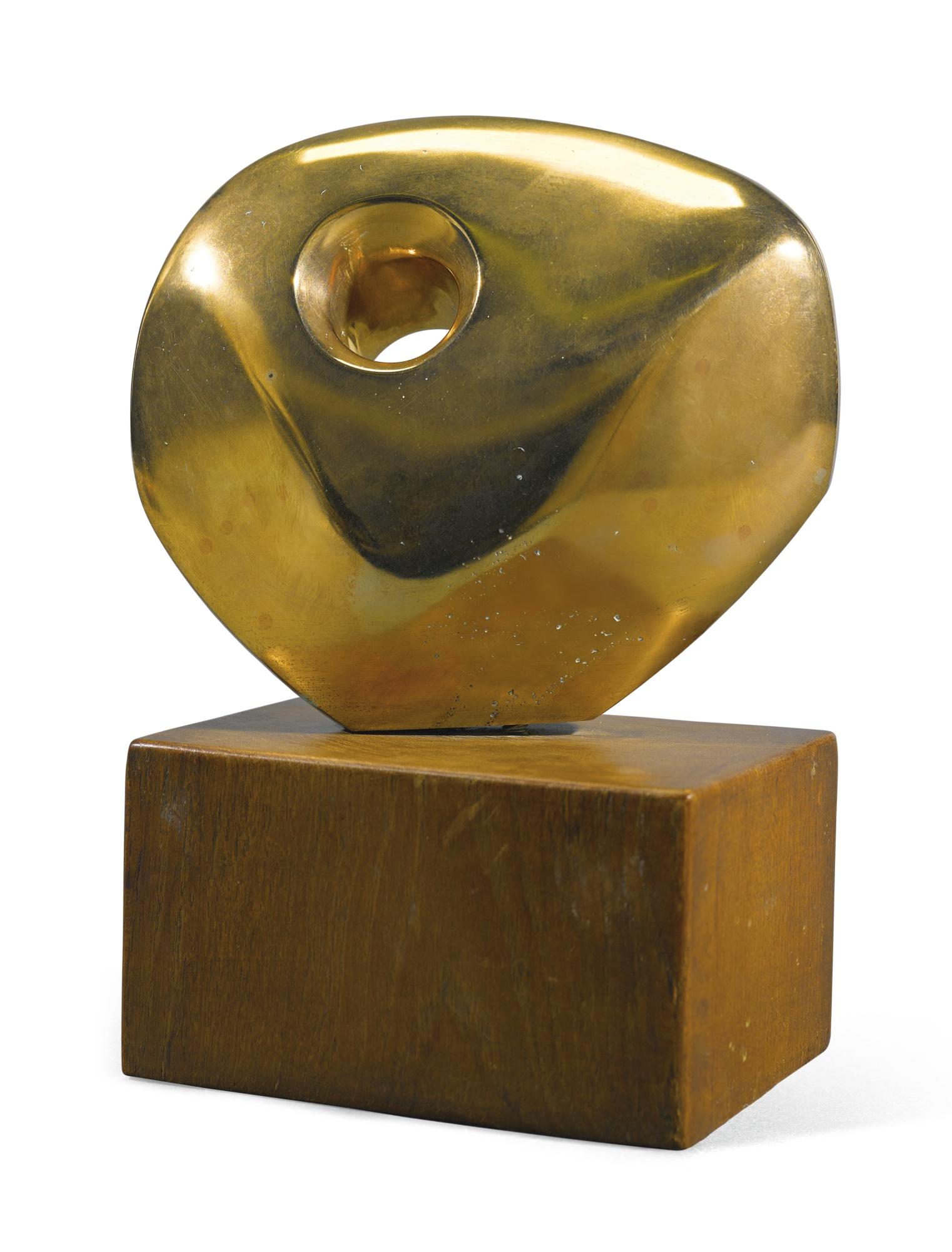 Barbara Hepworth-Pierced Round Form-1961