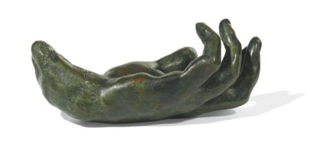 Auguste Rodin-Main Gauche No. 24, Petit Modele-1961