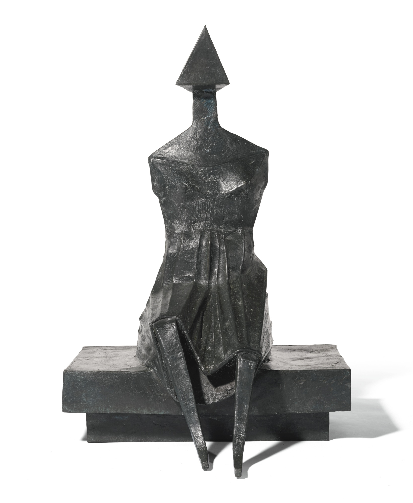 Lynn Chadwick-Sitting Woman II-1989