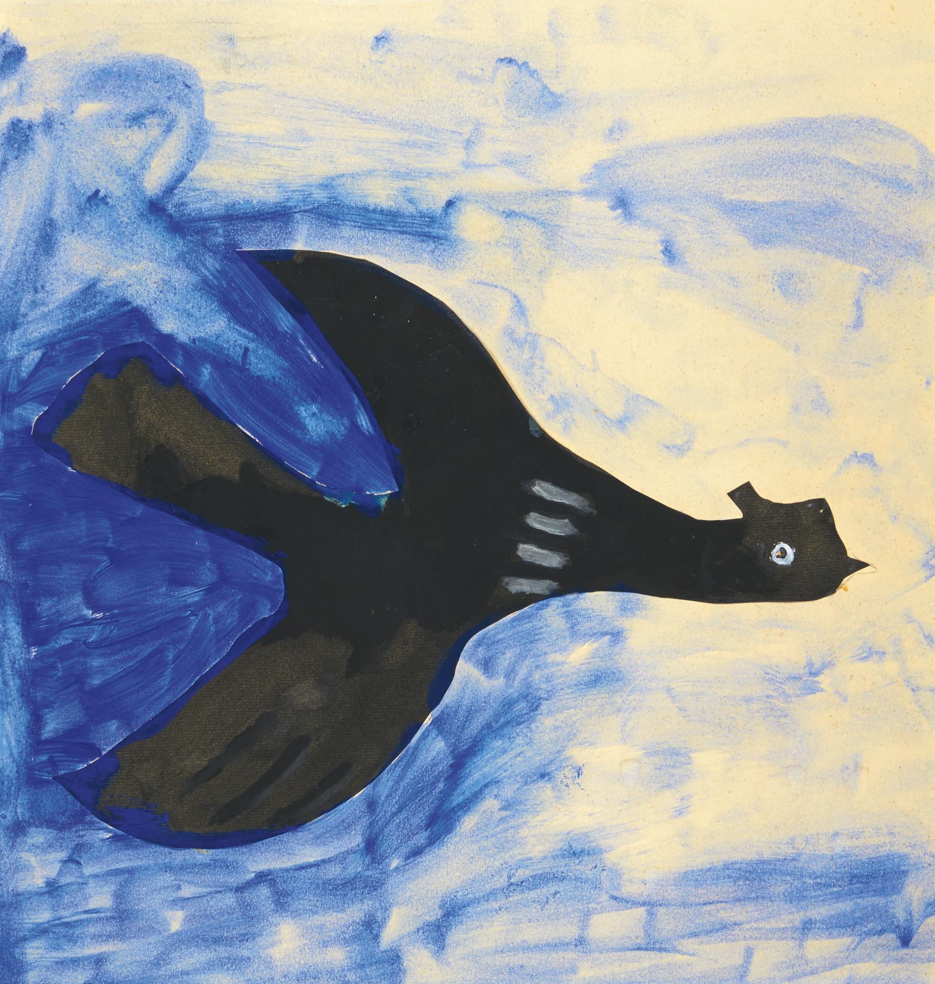 Georges Braque-L'Oiseau-1962