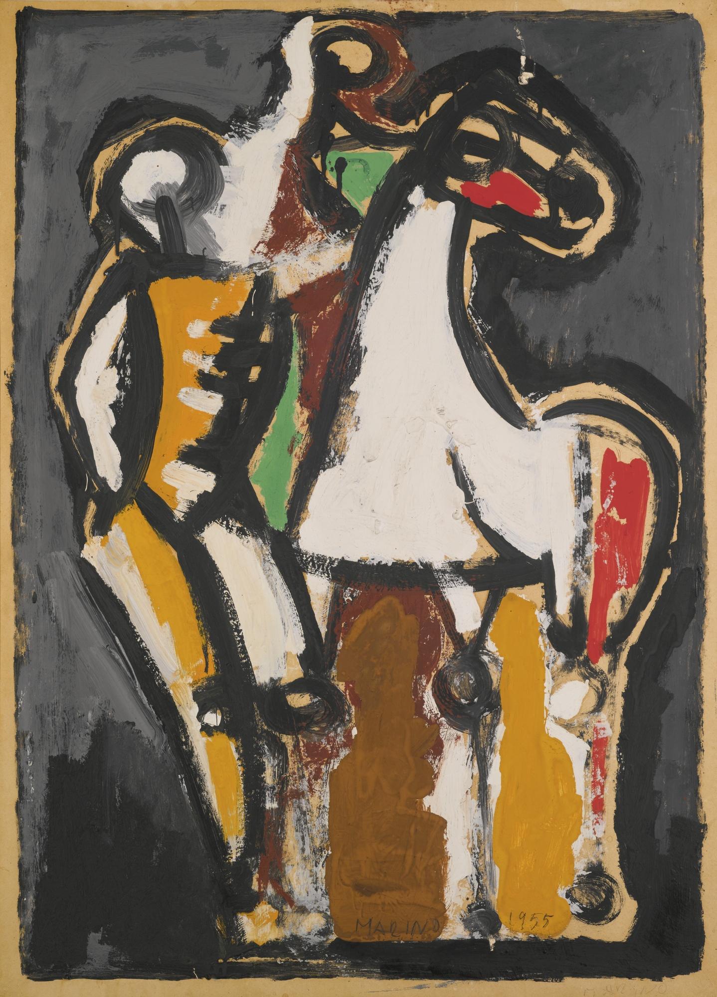 Marino Marini-Cavallo E Cavalieri-1955
