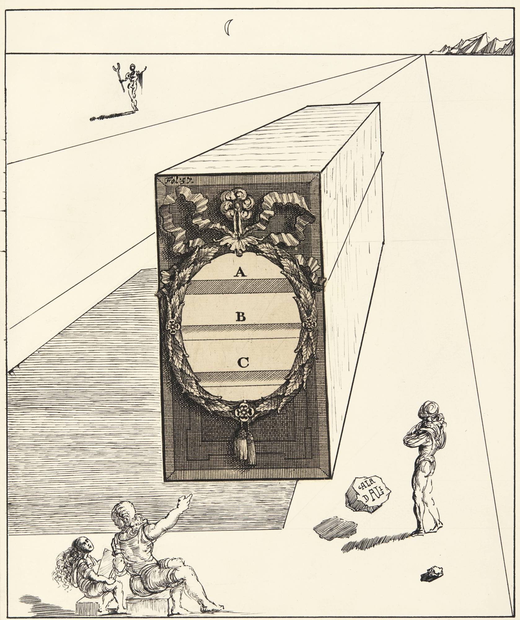 Salvador Dali-L'Art Du Lavis-1947