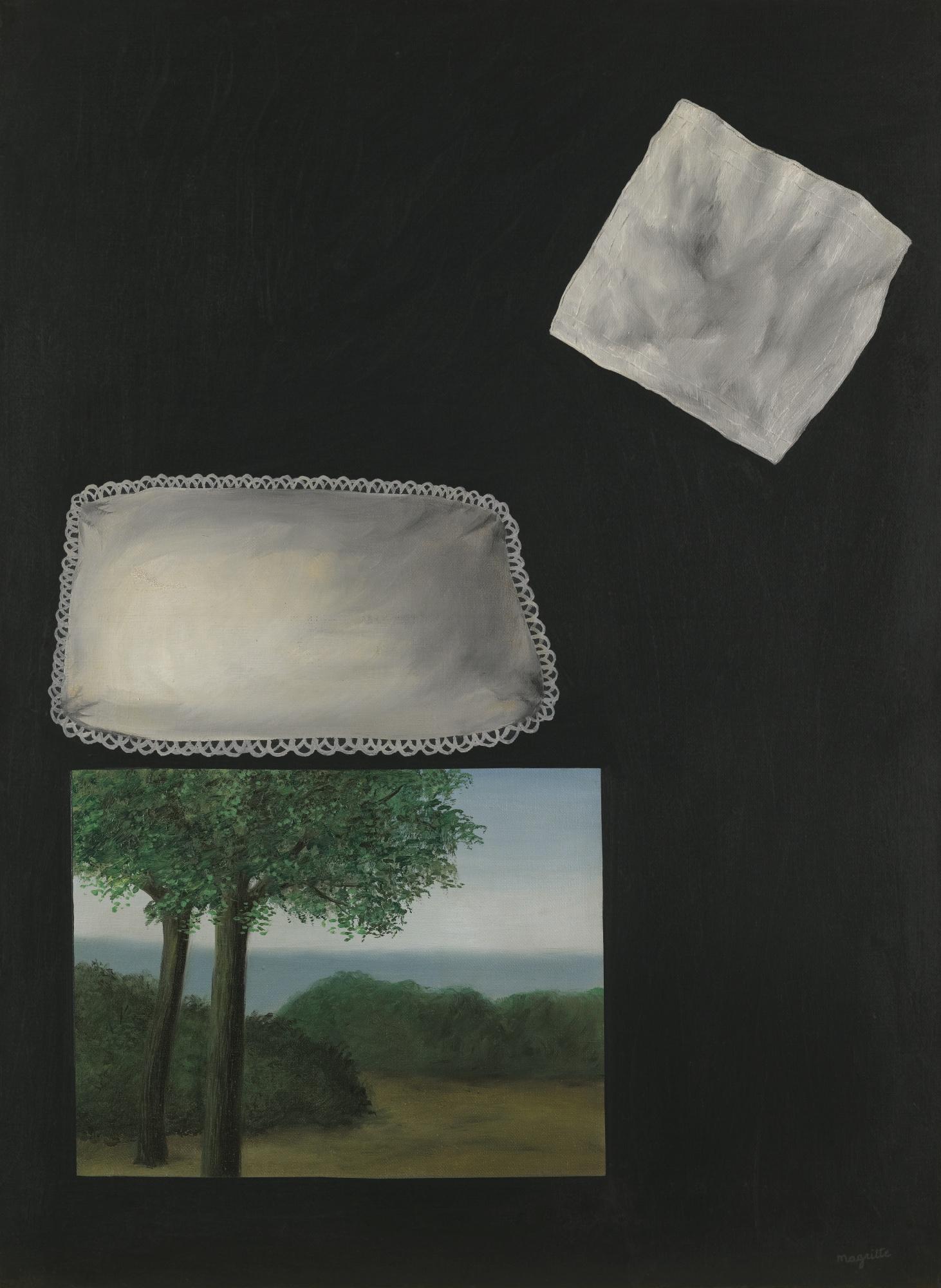 Rene Magritte-Les Fenetres De L'Aube-1928