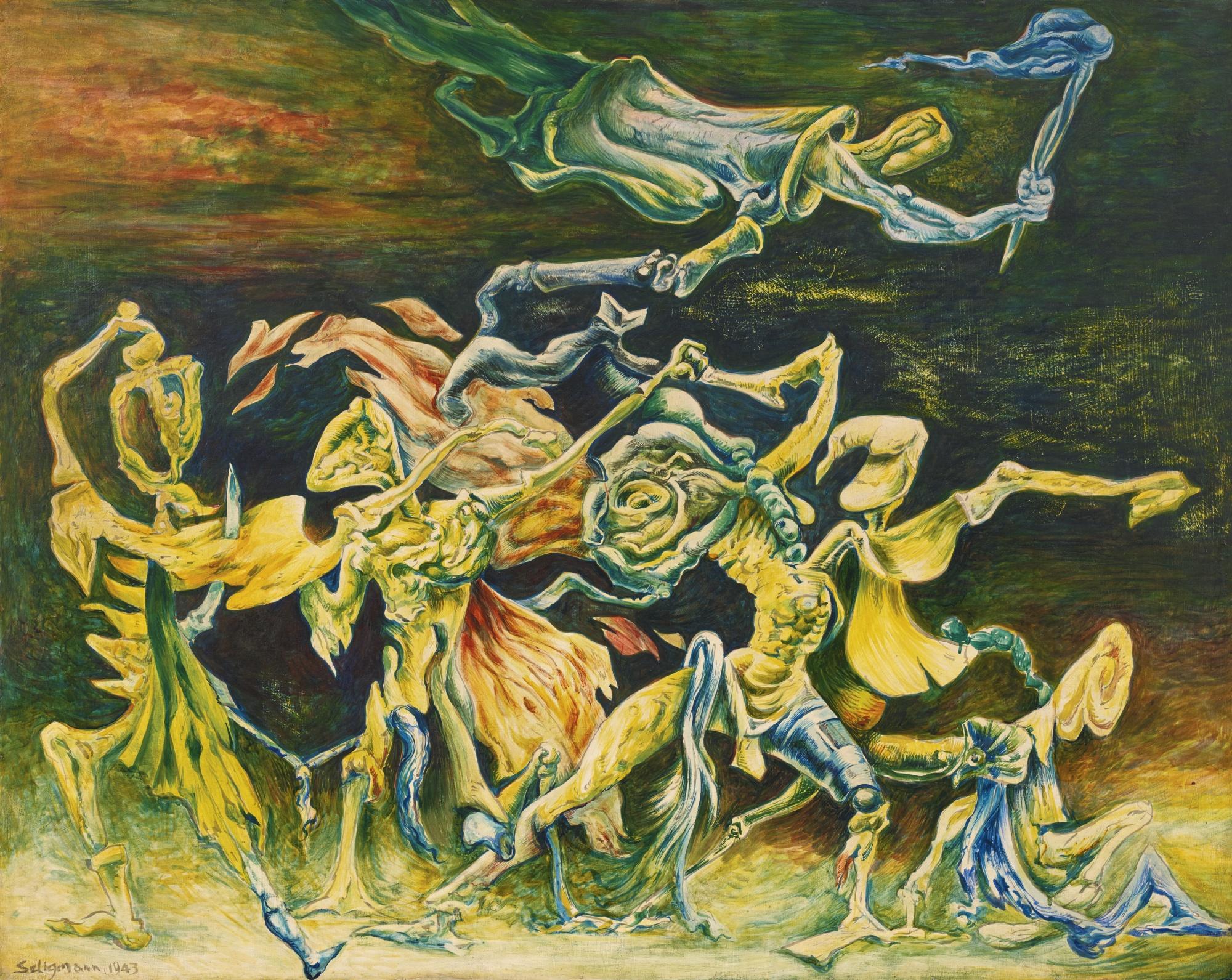 Kurt Seligmann-Le Genie De La Conviction-1943