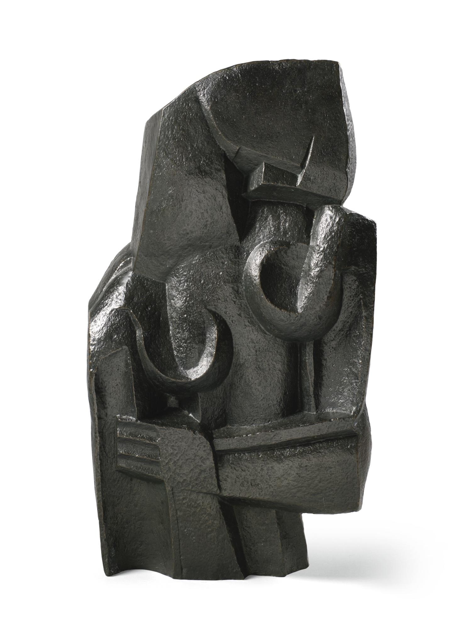 Ossip Zadkine-Sculpture Or Formes Feminines-1970