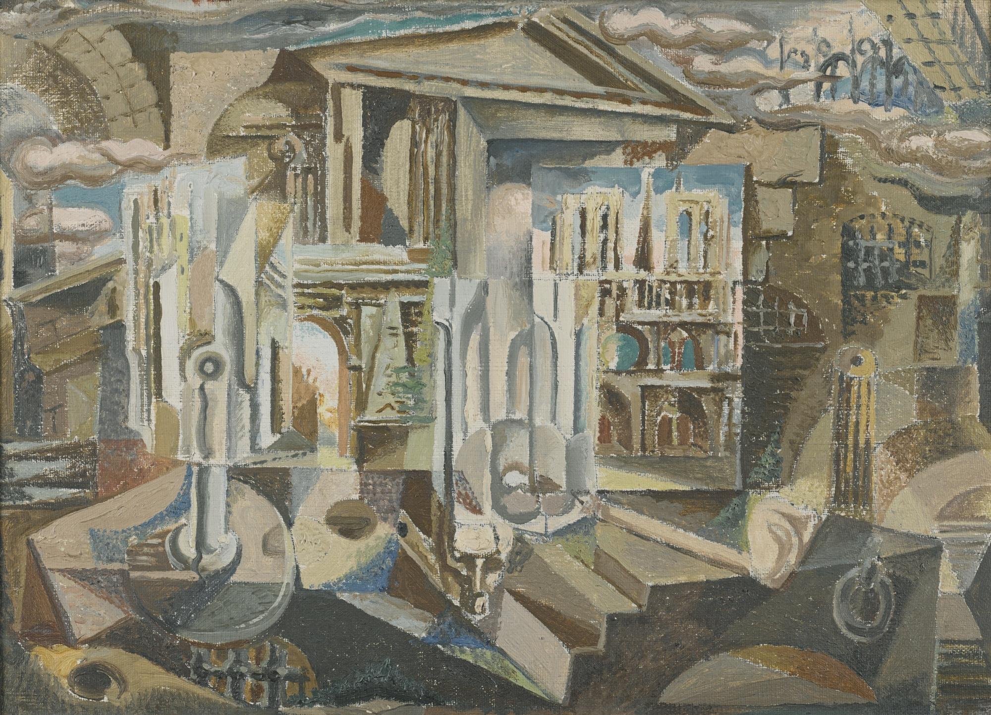Andre Masson-Les Cartes Postales-1925