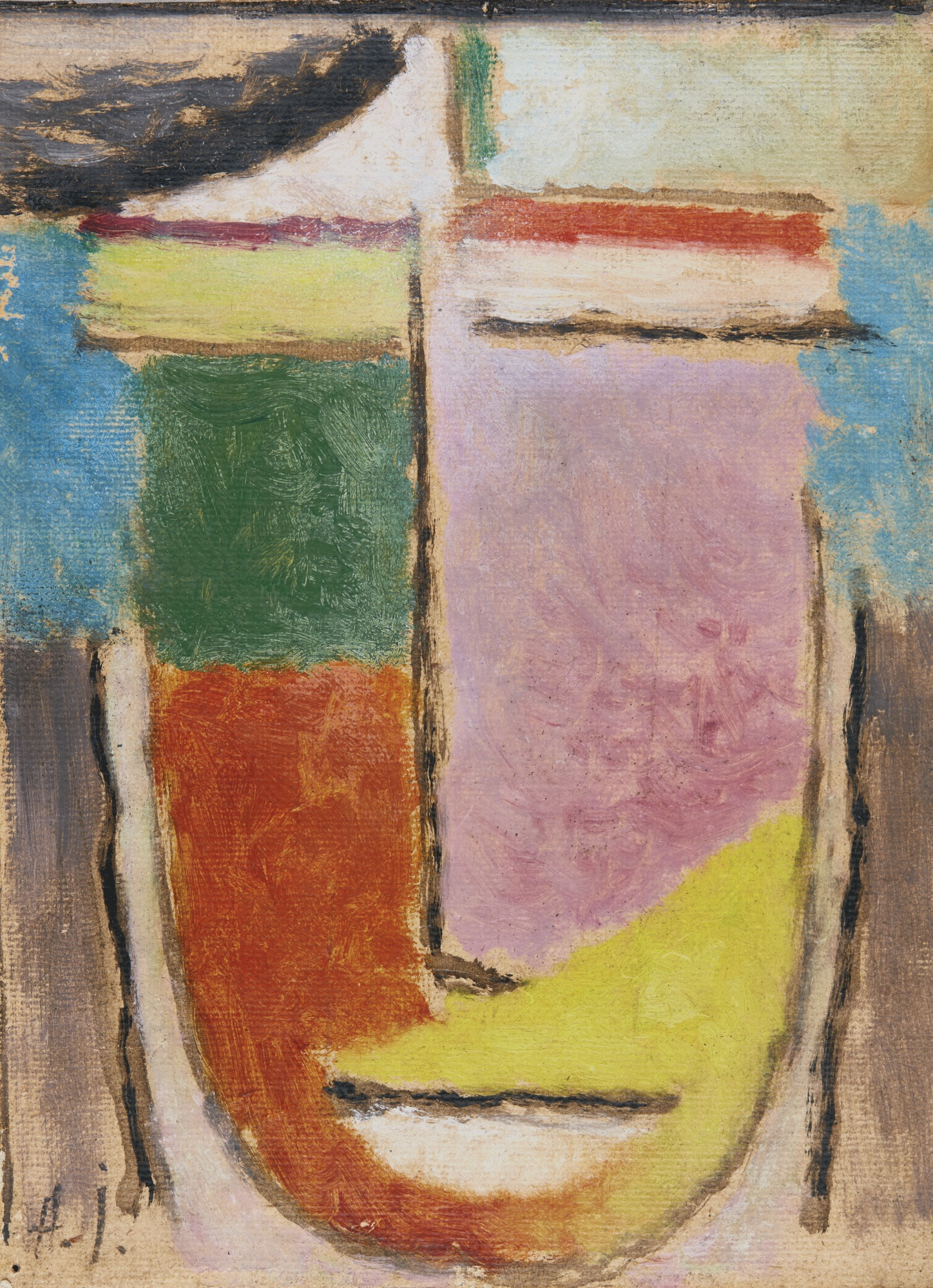 Alexej von Jawlensky-Abstrakter Kopf (Abstract Head)-1929